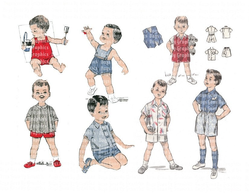 retro 1950s boys   hairstyles