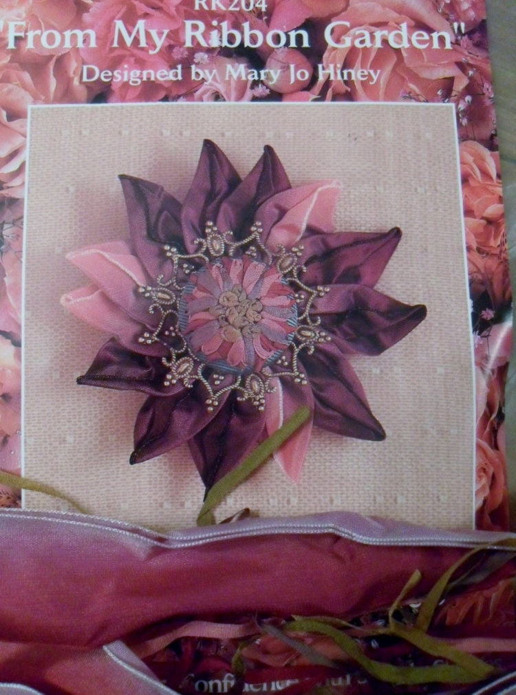 Embroidery kit silk ribbon to make from my by lagunalane