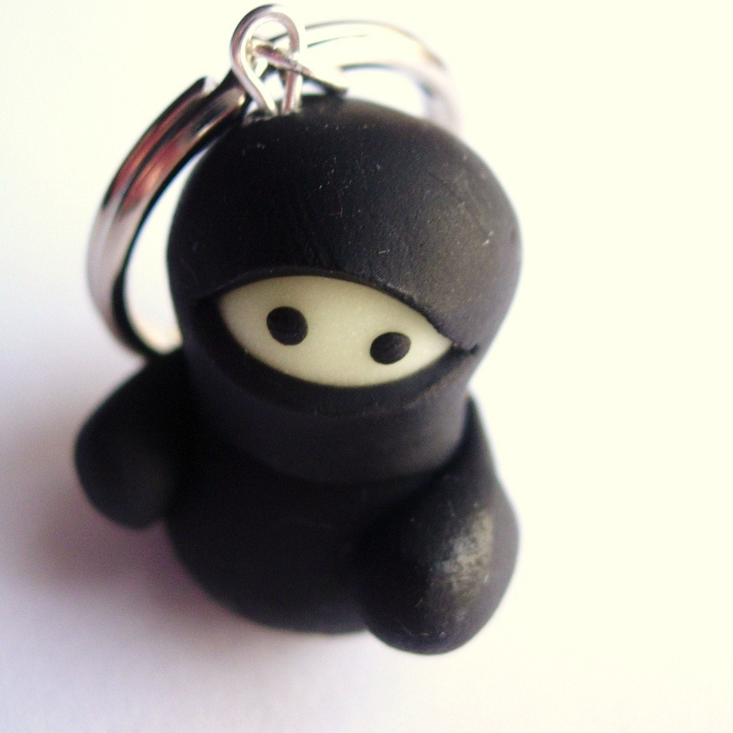 Glow in the Dark Ninja Keyring
