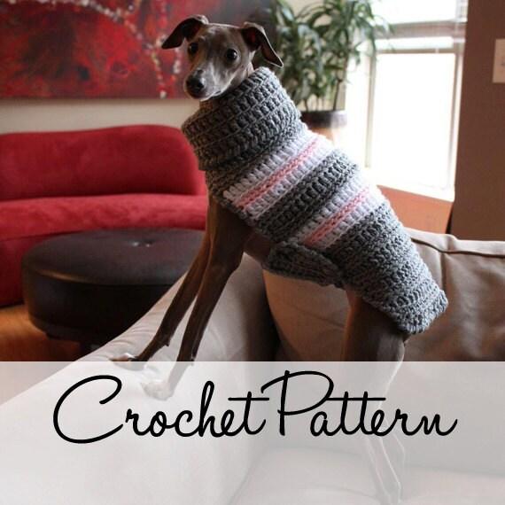 GREYHOUND SWEATER CROCHET PATTERN ? Free Crochet Patterns