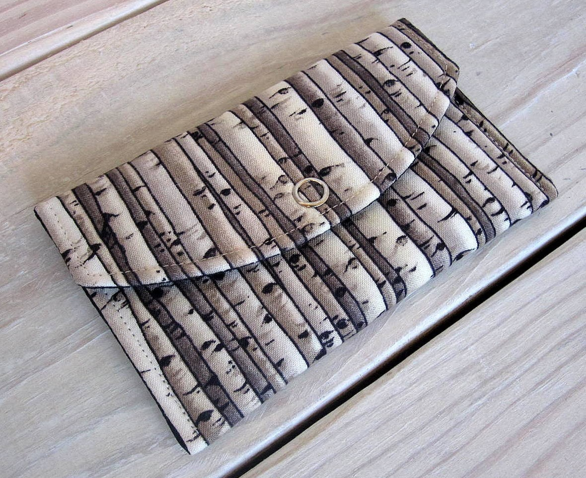 Birch Tree Snap Wallet