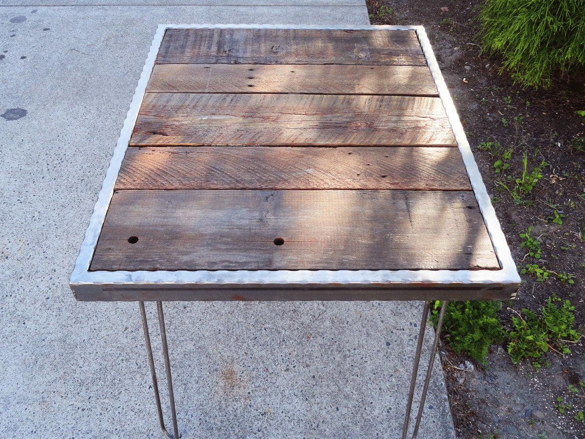 how to make a barnwood table