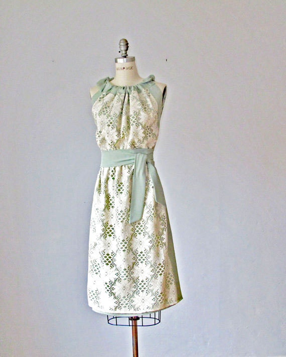 Dress /  Lase /  Mint and Creme   / Bridesmaids / Romantic / Bride / Wedding / Vintage inspired