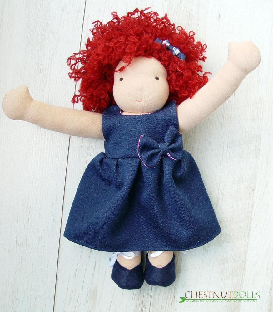 """Chloe - 14"""" waldorf doll"""