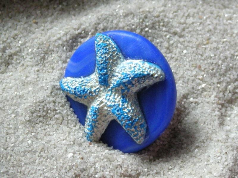 Сокровища моря 2 Handpainted смол и Полимерная глина кольцо