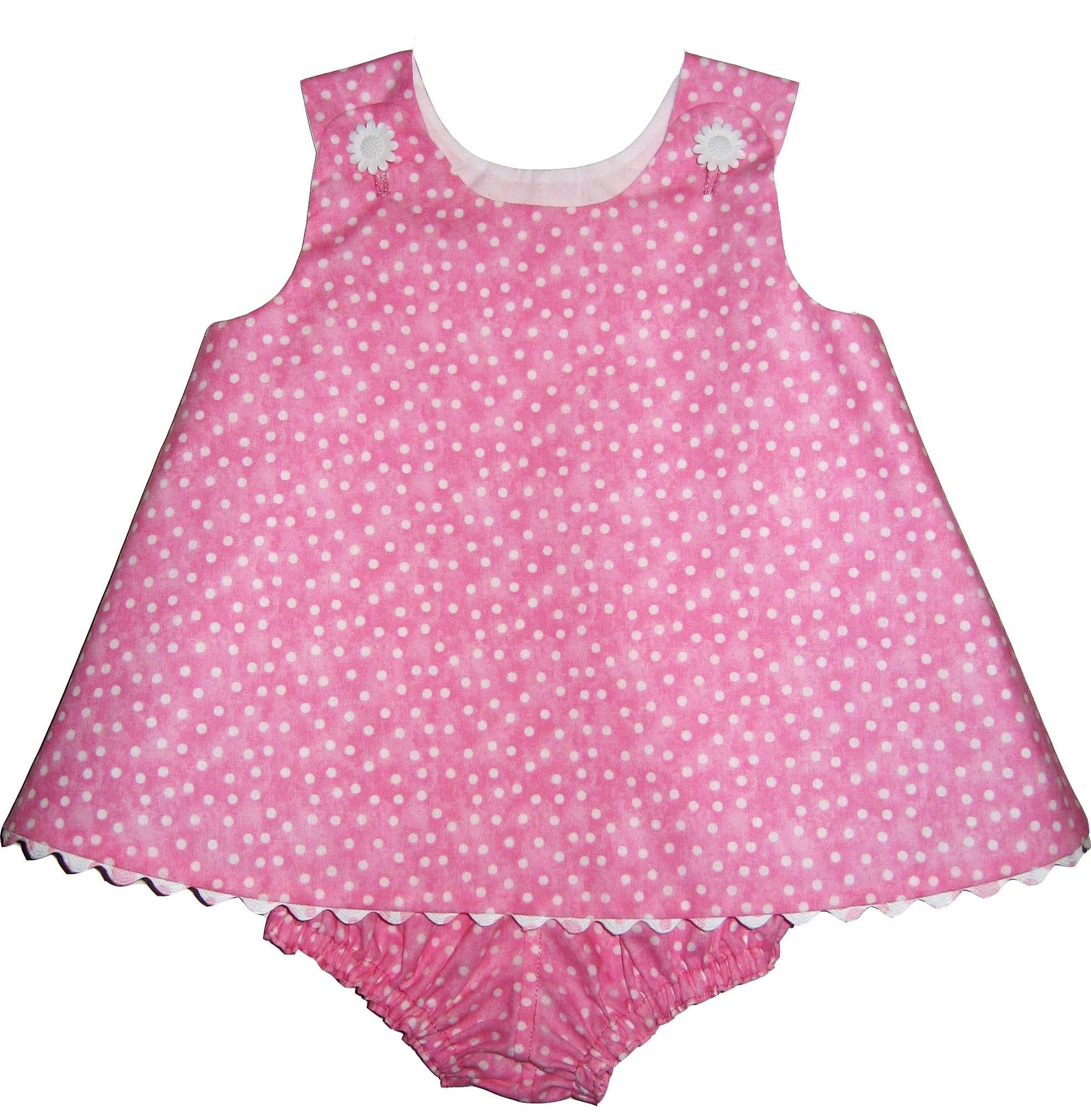 Designer Baby Dress with Bloomers