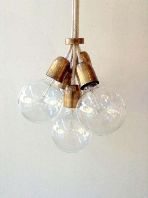 handmade pendant light chandelier edison restoration industrial style. Black Bedroom Furniture Sets. Home Design Ideas
