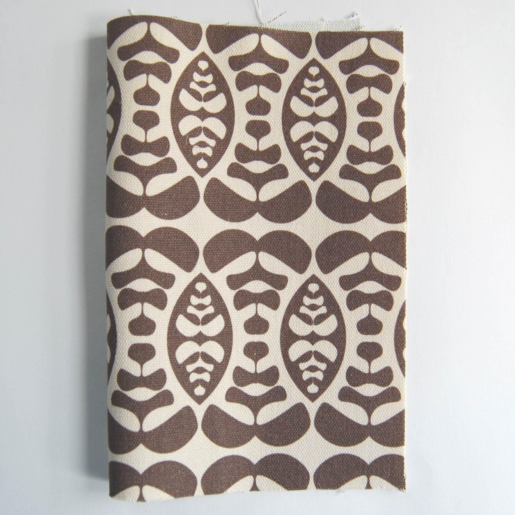 organic canvas fabric remnant - LULU - 9'' x 11.5''