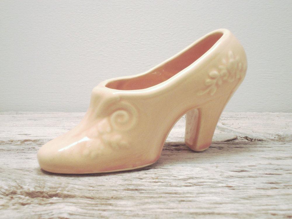 American Pottery Shoe Planter