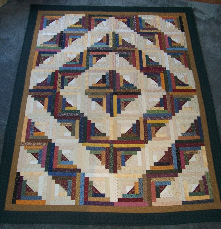 Barn Raising Quilt Pattern Free Knitting : Barn Raising Pattern Patterns Gallery