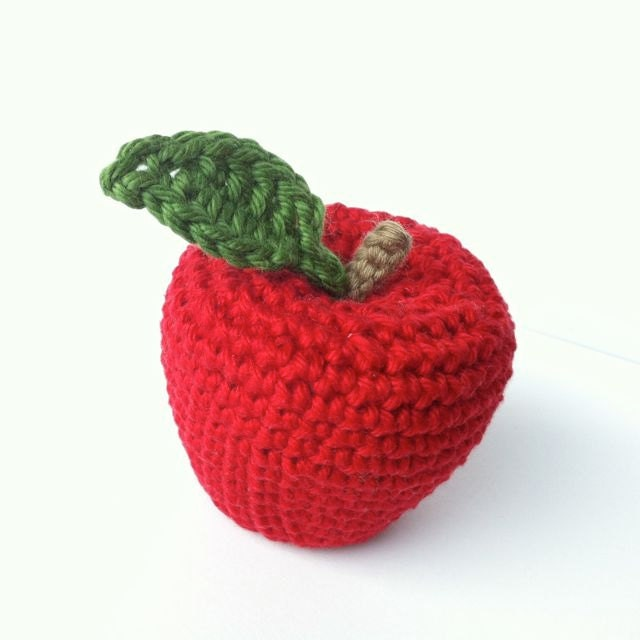 Crocheting Vegetables : Items similar to 3 Crocheted Fruit & Vegetables / Crochet Vegetables ...