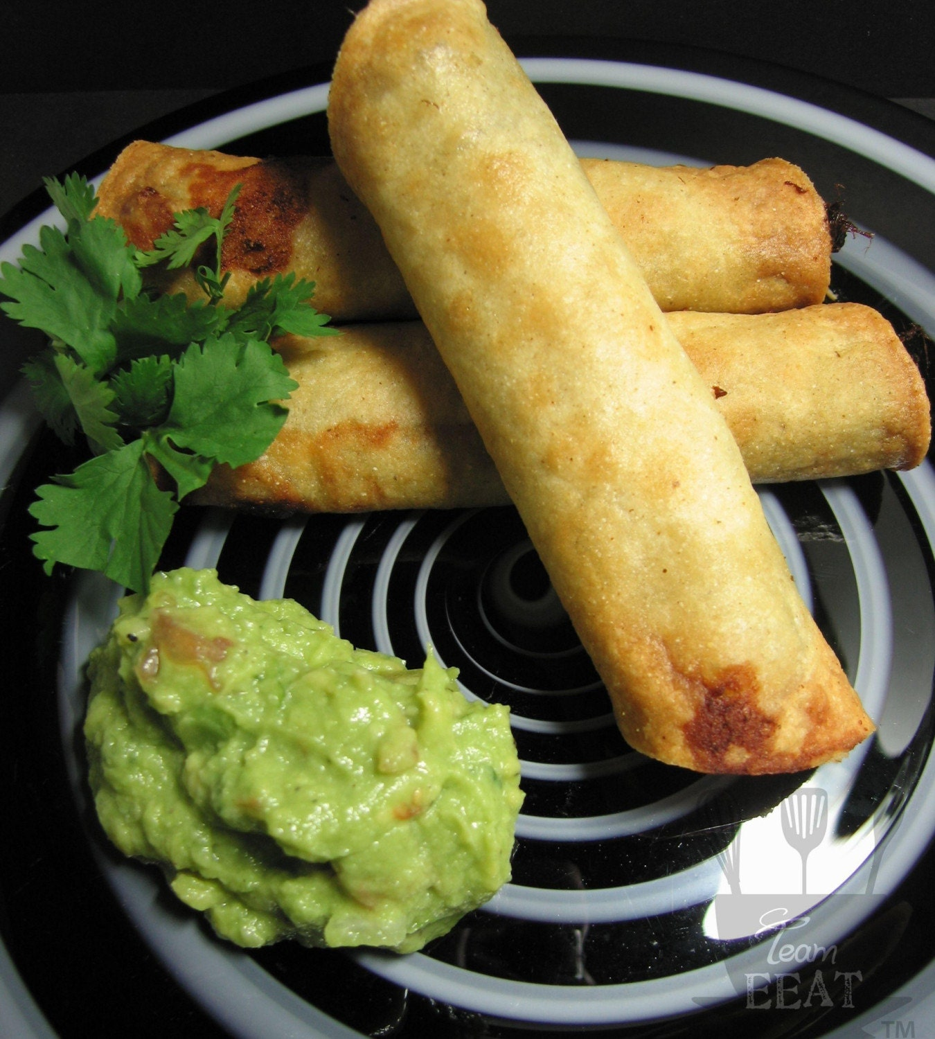 Green Chili Pork Taquitos by athyme2bcomforted