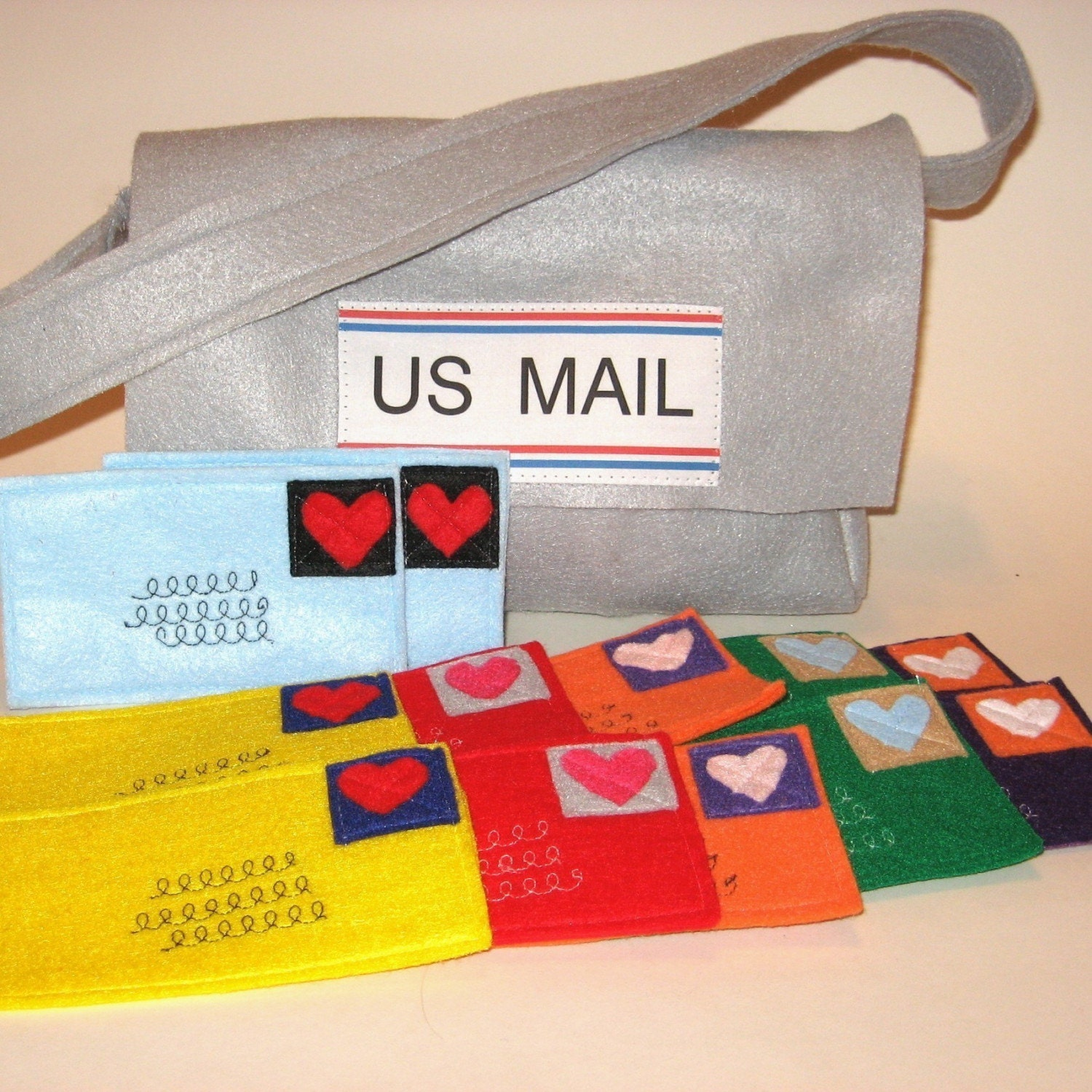 AFTER CHRISTMAS DELIVERY ONLY Mail and Mail Bag for your favorite little mailman or to use with Playhouses