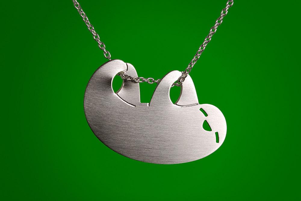 Happy Sloth Necklace