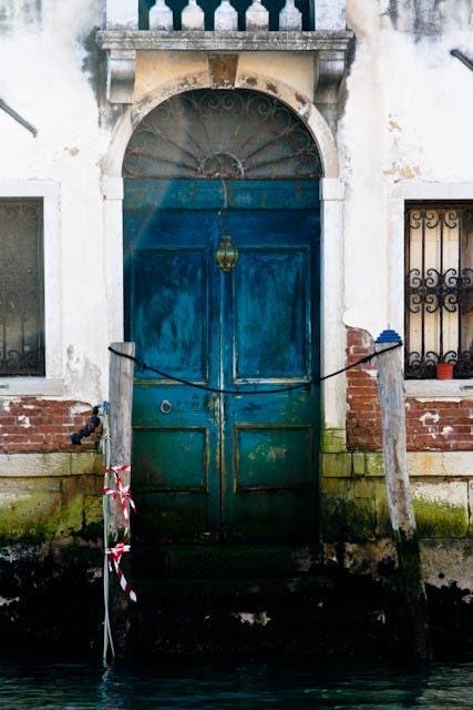 Venice Photography Faded Blue Aqua Door In By Rebeccaplotnick
