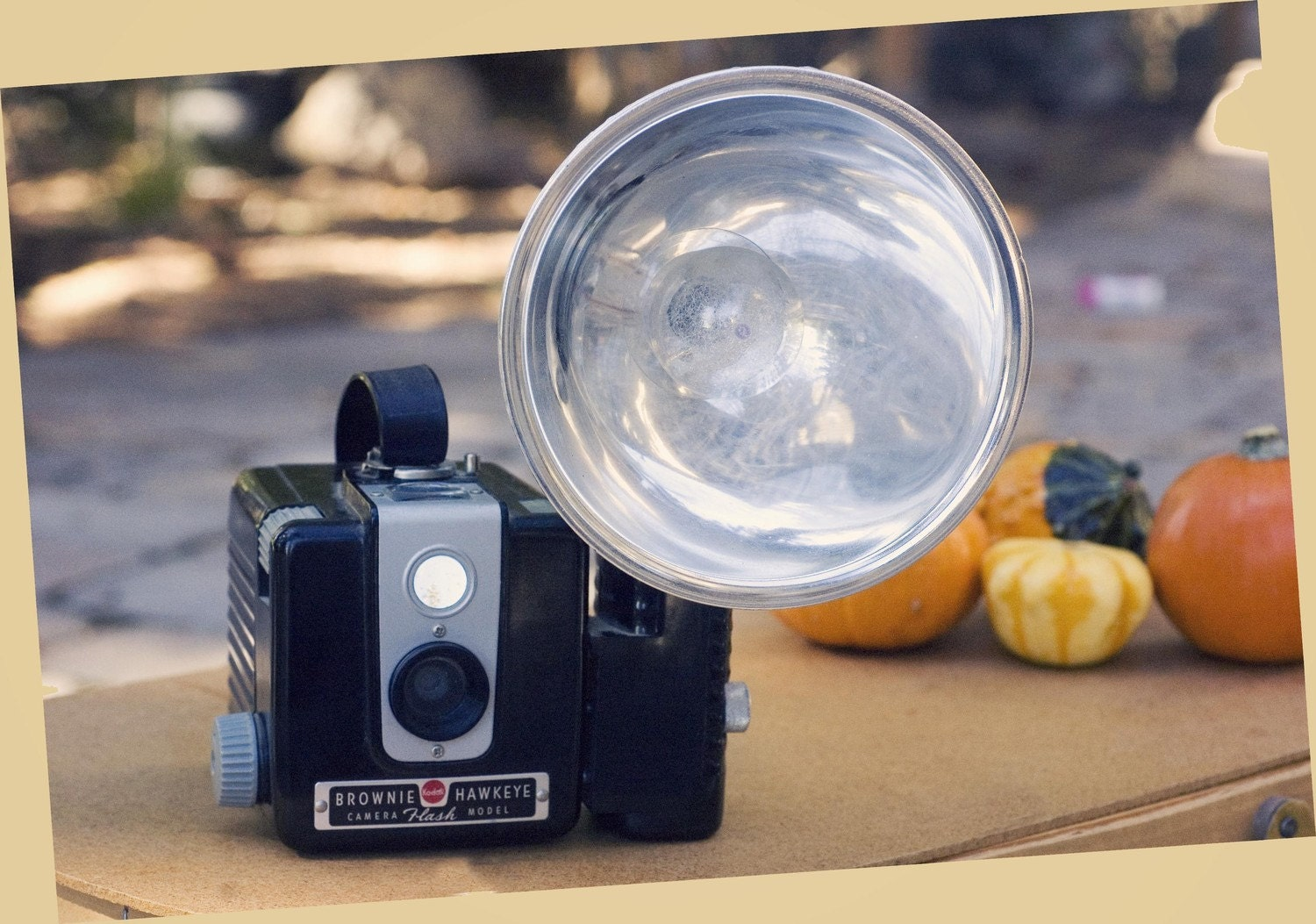 Vintage Brownie Hawkeye Camera with Flash and Bulb