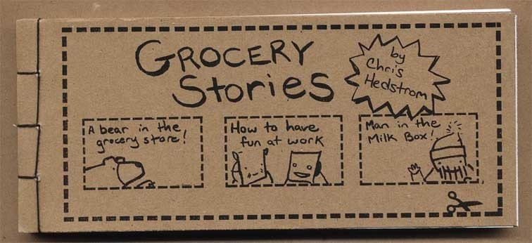 Grocery stories zine cover