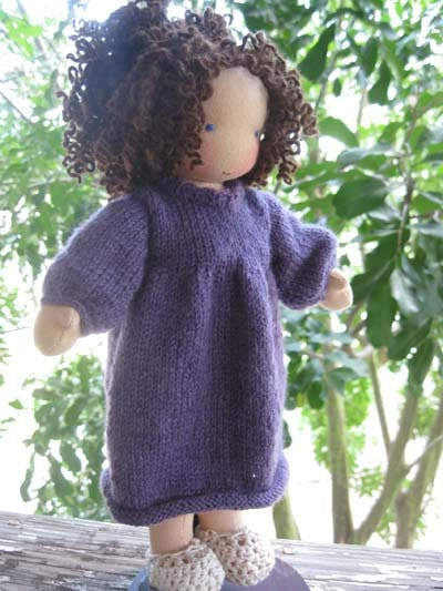 Susie and Gabriela  Waldorf style cloth dolls