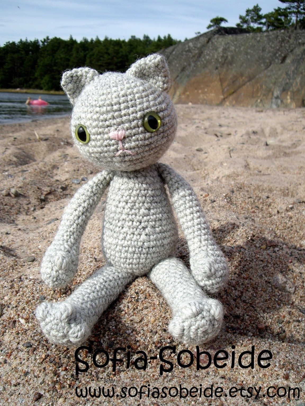 Crochet a Cat - PDF pattern