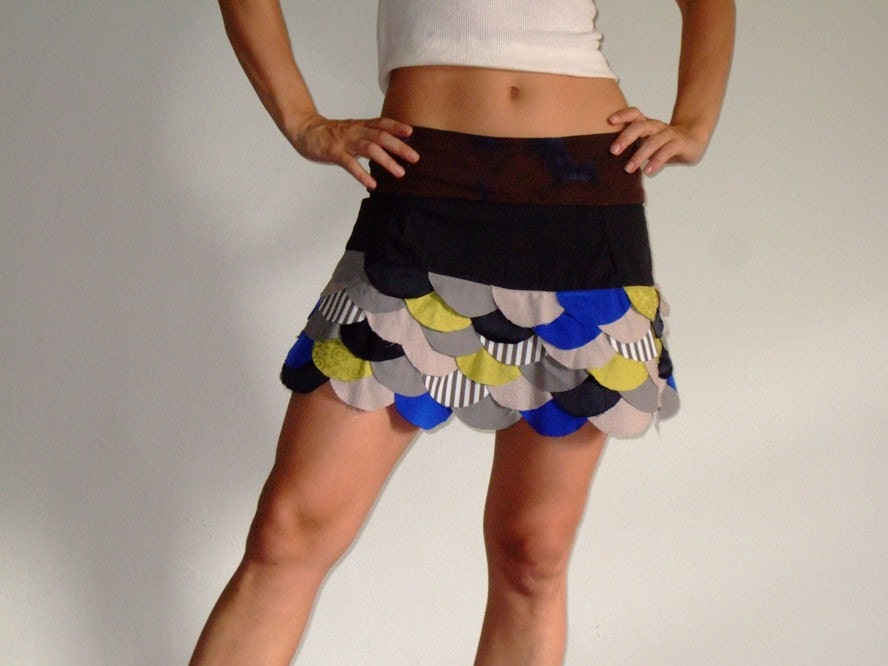 Fish Scale Skirt (S/M and M/L)
