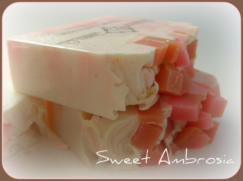 Sweet Ambrosia Gourmet Soap