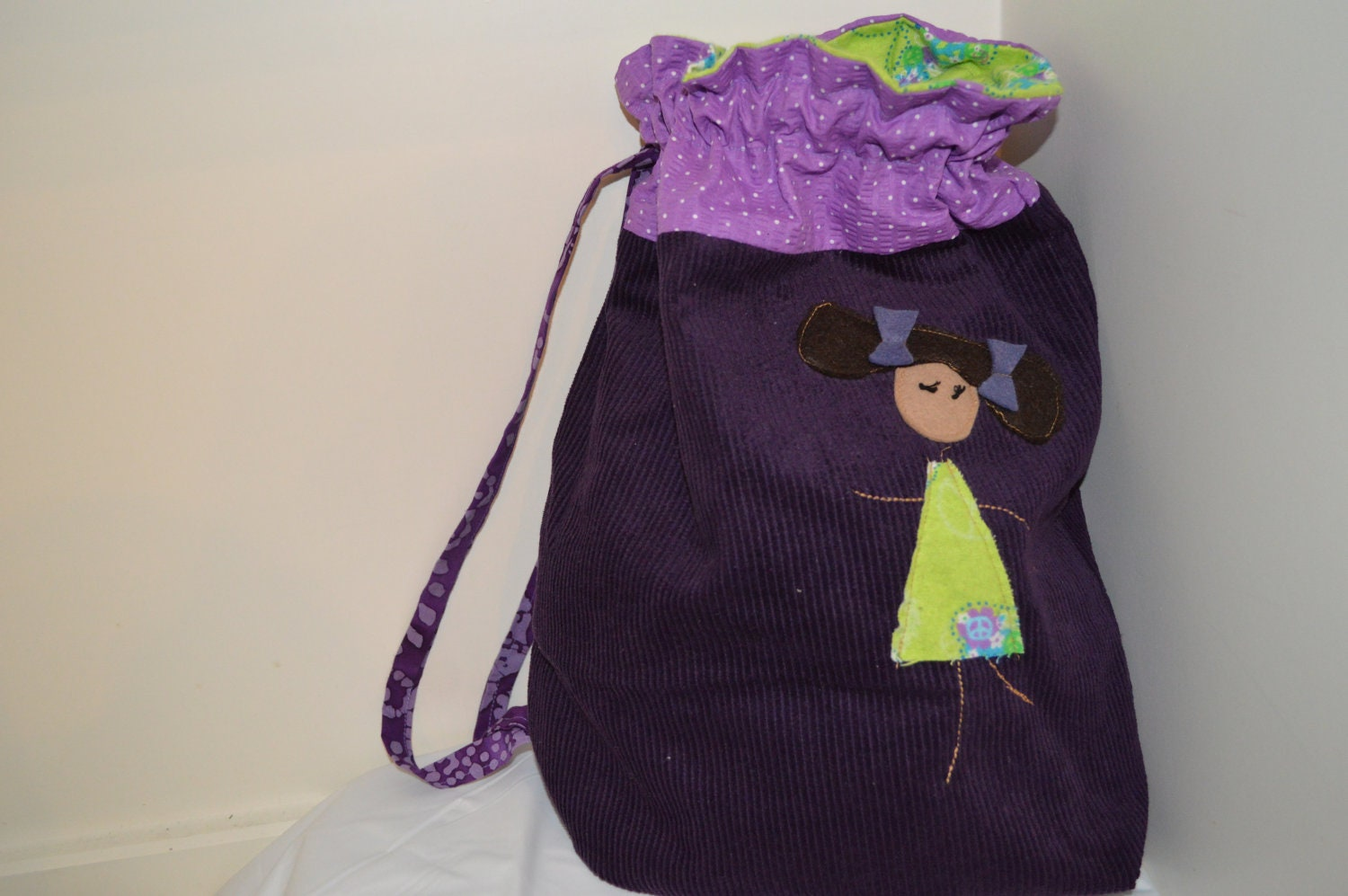 Purple Library Ballet Bag