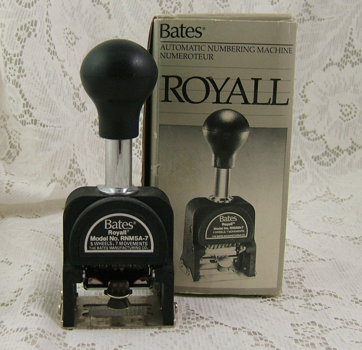 bates automatic numbering machine