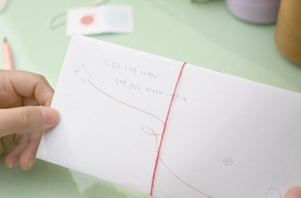 Red String Point Letter.