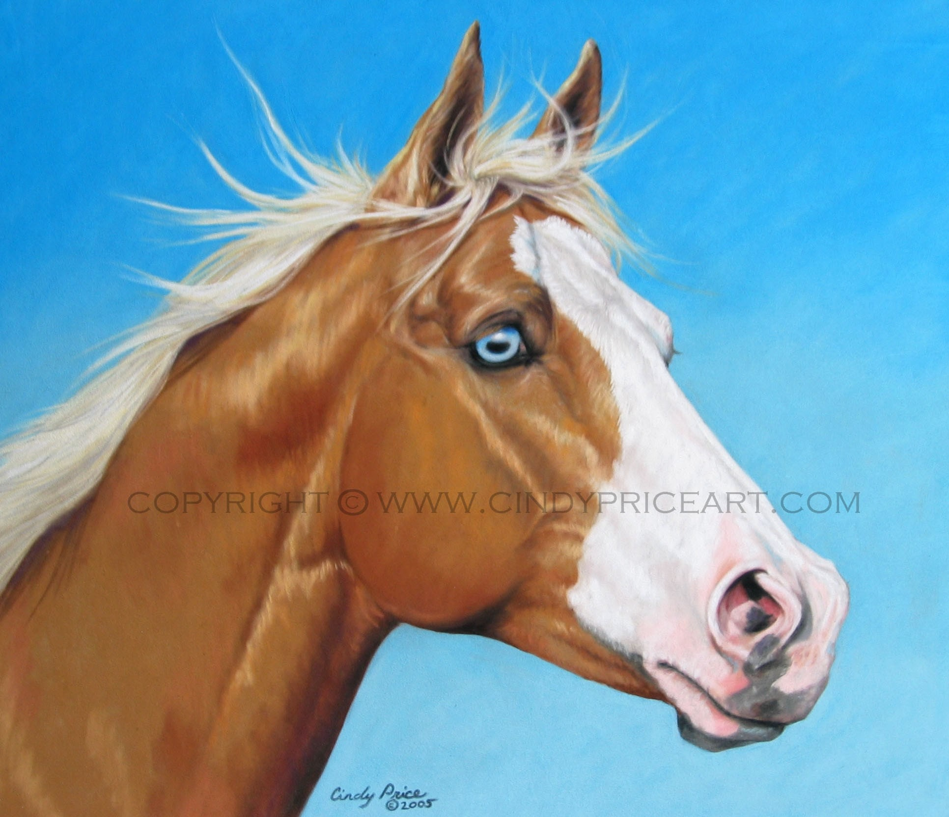 Palomino Quarter Horse...