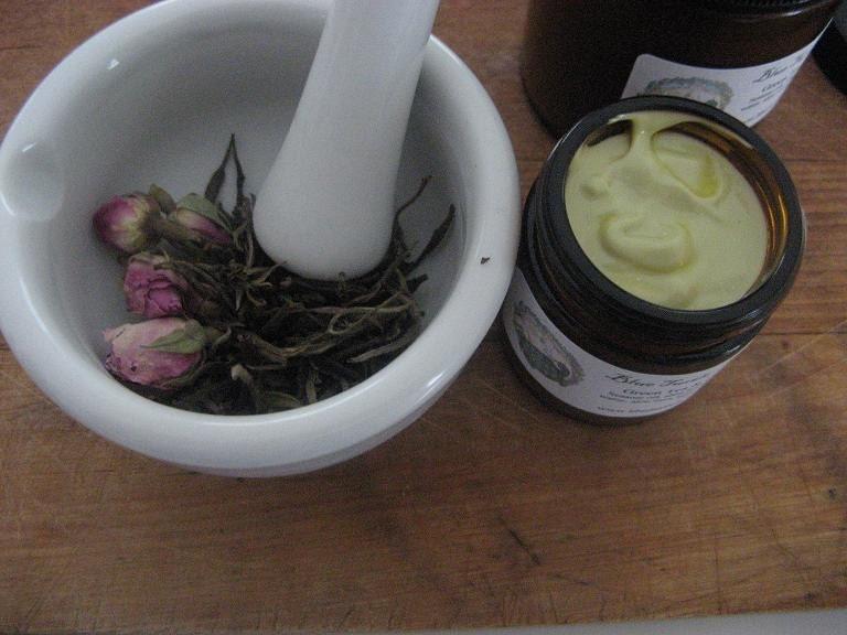 Green Tea and Rose Cream