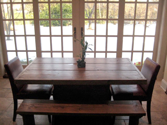 Reclaimed Wood Dining Room Table Photo Gallery sicadinccom