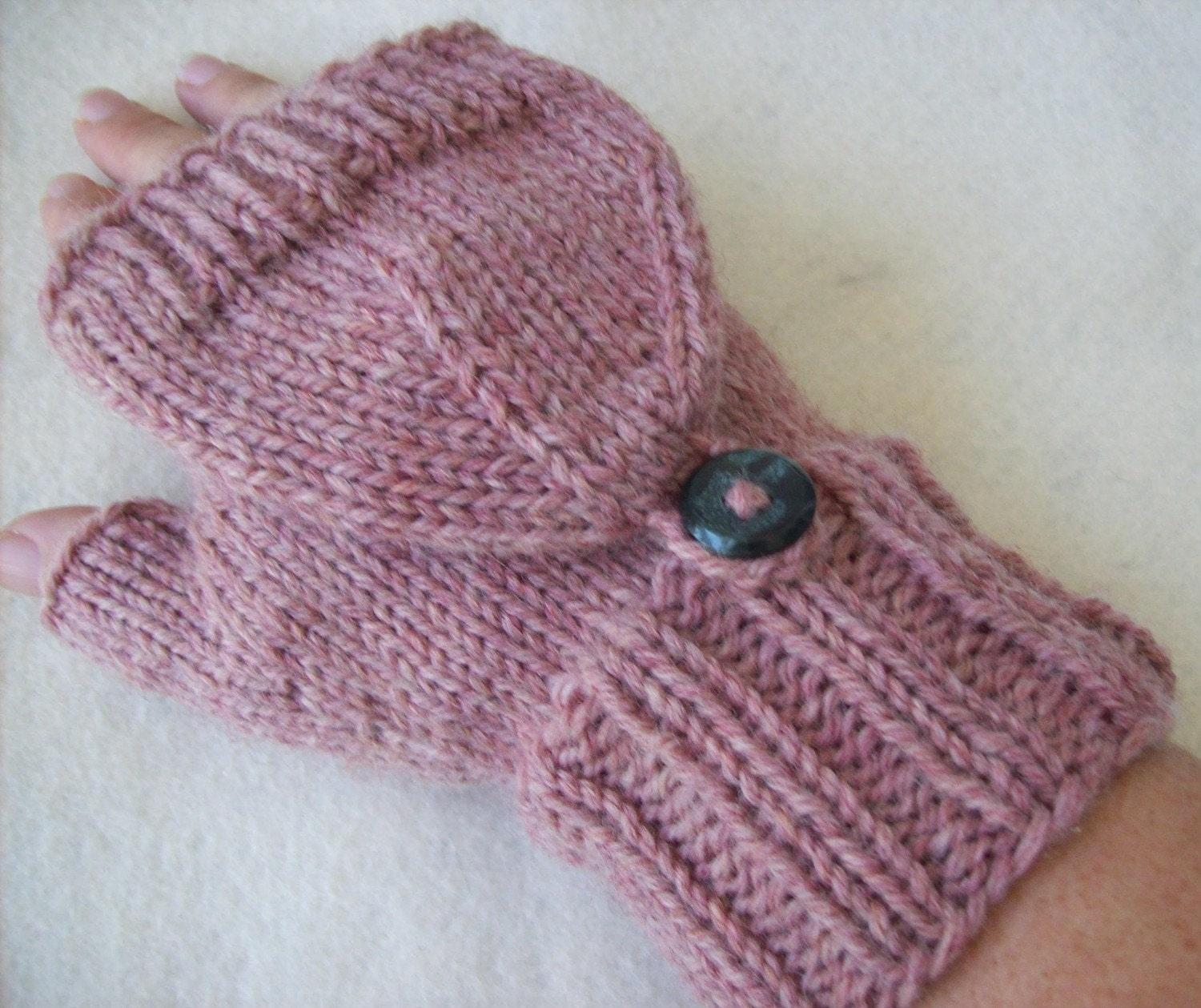 Knitting Pattern For Mittens With Flaps : Redirecting