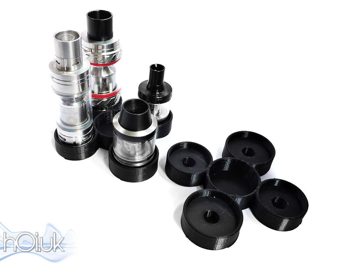 3D Printed 5Way Flower Vape Tank Holder  Holds 2x up to 27mm 2x 24mm tanks  1 x 27mm Container  Smok Aspire Uwell  Fully Customisable