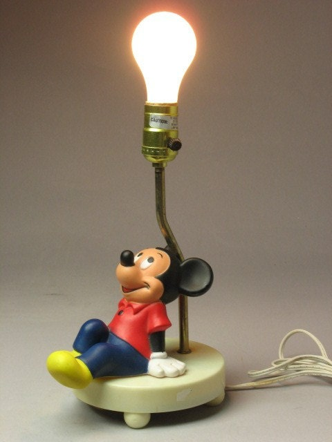 items similar to fabulous mickey mouse lamp from our