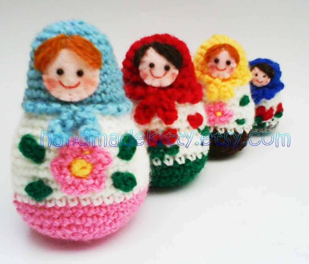 Knitting Pattern Russian Doll : Crochet Pattern For Dolls   Catalog of Patterns
