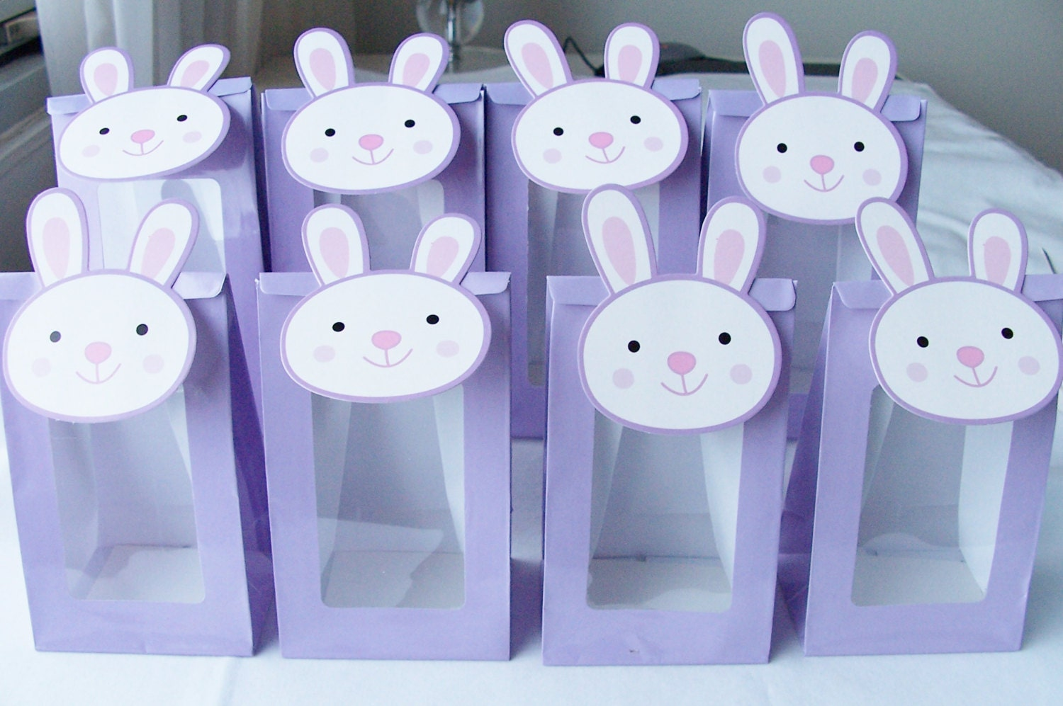 bunny goody bags baby shower treat bags easter party favour bags