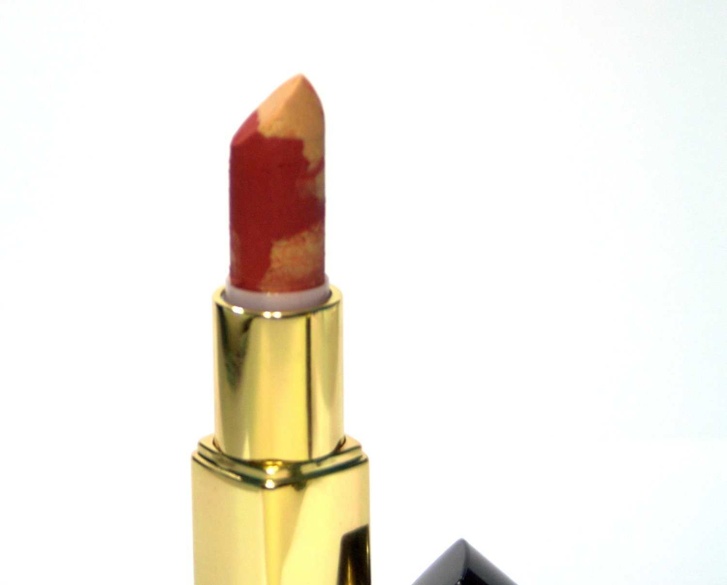 Gold and Red  Lipstick - Marble Edition - Nourishing - Twilight - All Natural - FierceMagenta