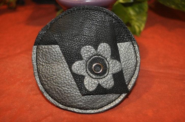 Leather Lens Cap Pouch