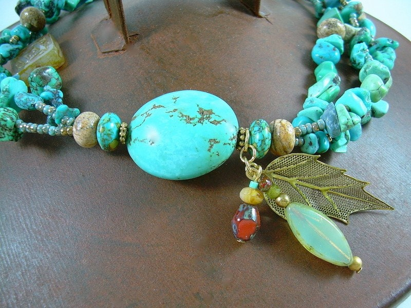 Turquoise Earth - Gemstone Necklace
