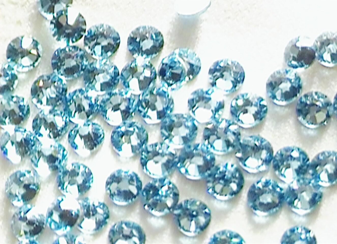 items similar to aquamarine 12ss swarovski elements