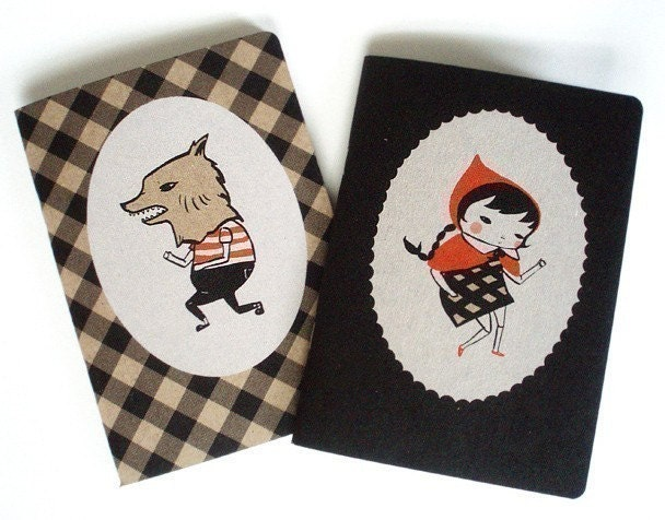 Little Red and Wolfboy Notebook Two-Pack