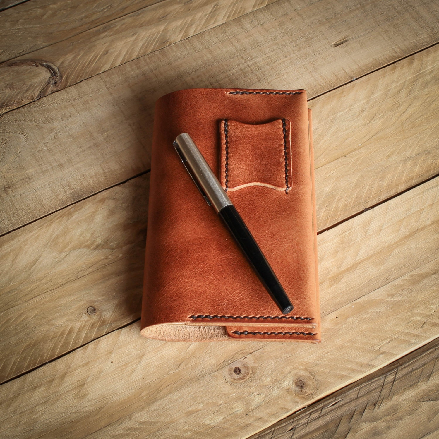 Notebook Cover Horween Leather Leather Notebook Cover Leather Journal Cover Moleskine  Fieldnotes Cover Leather Accessories