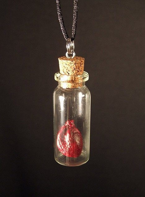 real rabbit charm necklace magic by chimeracurio
