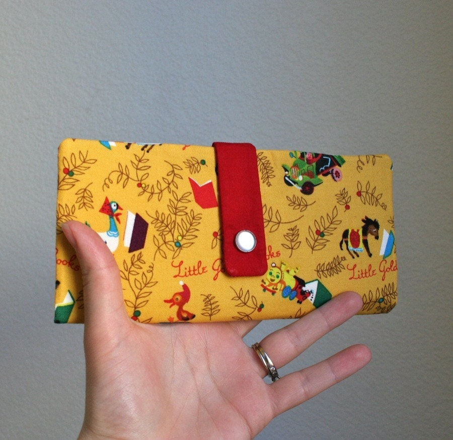 golden books wallet