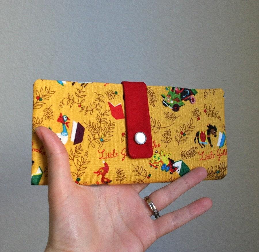 golden books wallet