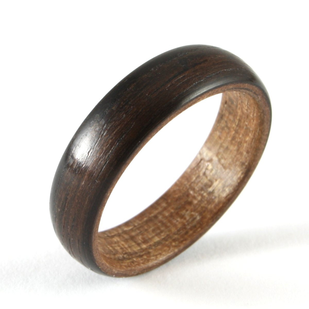 wooden wedding ring for a by harestree on etsy