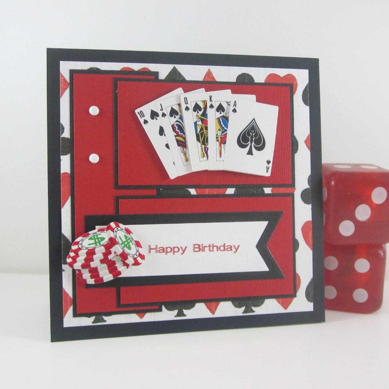 HaPPy BirTHdayspikeithard – Poker Birthday Cards