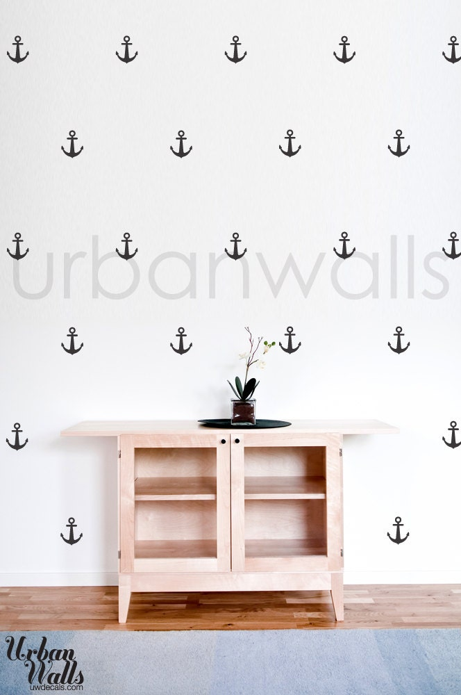 Vinyl Wall Sticker Decal Art - Anchors