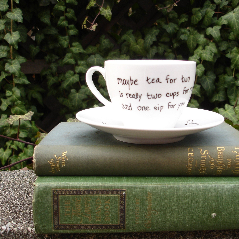My Tea Cups Original Tea Haiku Teacup