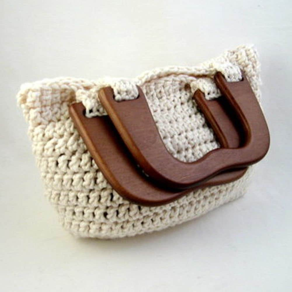 Free Crochet Purse Patterns With Wooden Handles : CROCHET PURSE WITH WOODEN HANDLES ? Only New Crochet Patterns
